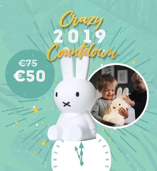 Crazy 2019 Countdown - elke dag een nieuwe crazy promo
