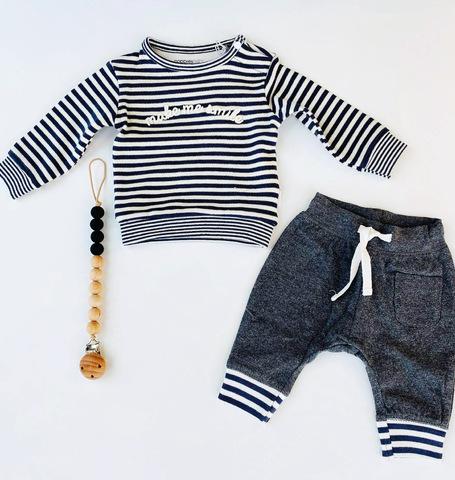 Baby got stripes